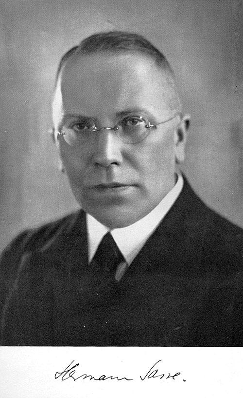 Hermann Sasse: Hvad er luthersk kristendom? Oslo 1937